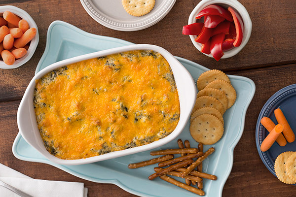 Popeye's Cheesy Spinach Dip
