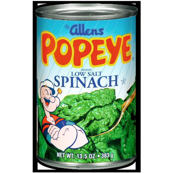 Low Salt Spinach